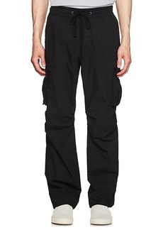 James Perse Men's Washed Cotton Cargo Pants