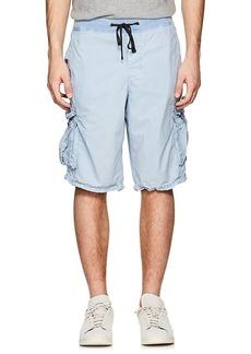 James Perse Men's Washed Cotton Poplin Cargo Shorts
