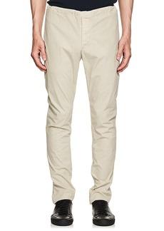 James Perse Men's Washed Cotton Slim Drawstring Pants