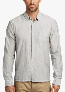 James Perse MICRO STRIPE CREASED SHIRT
