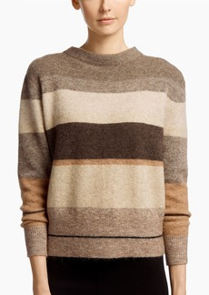 James Perse MOHAIR STRIPED SWEATER