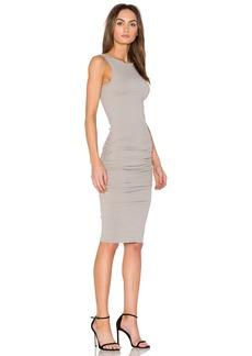 James Perse Open Back Skinny Dress