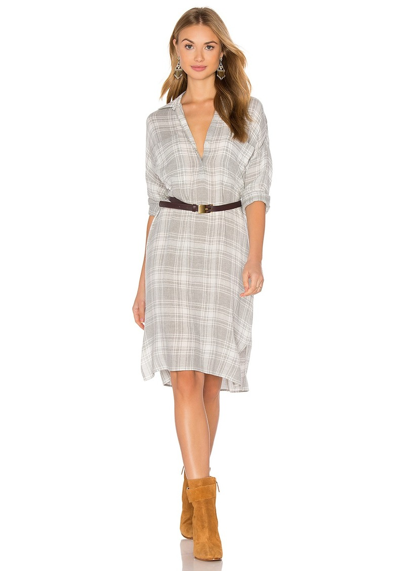 James Perse Oversized Shirt Dress