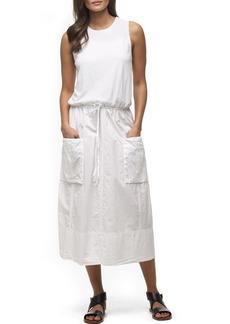 James Perse Parachute Cotton Midi Dress