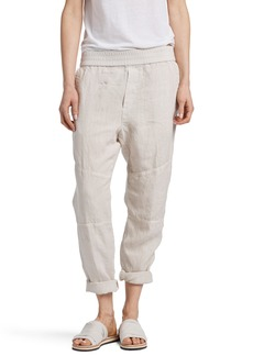 James Perse Patch Linen Pants