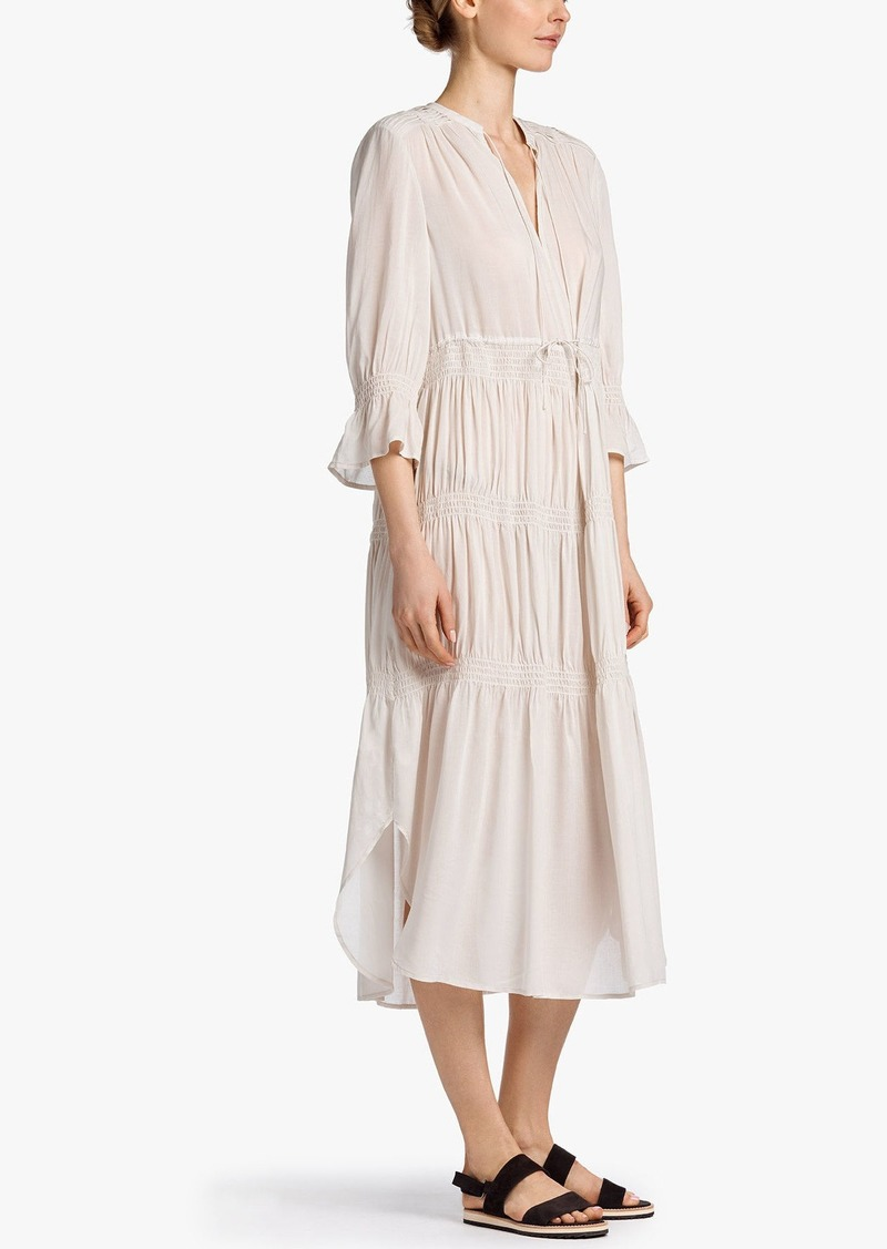 d3ae4243408d2 James Perse James Perse PLEATED CHIFFON DRESS   Dresses