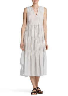 James Perse Pleated Midi Dress