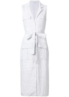 James Perse pocket shirt dress - White