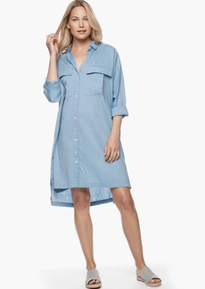 James Perse POCKET SHIRT SWING DRESS