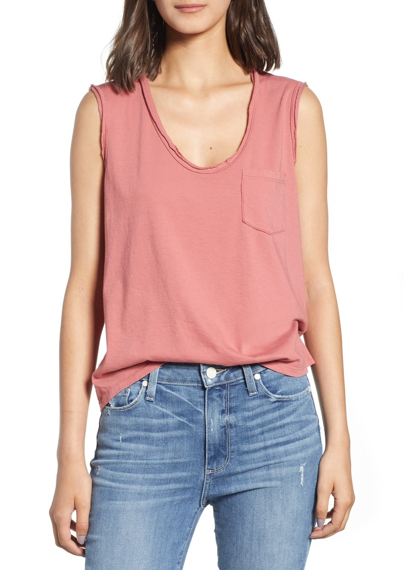 9a40a70dfd8144 On Sale today! James Perse James Perse Pocket Tank