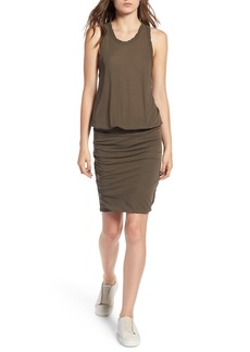James Perse Racerback Blouson Dress