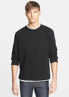 James Perse Raglan Crewneck Sweatshirt
