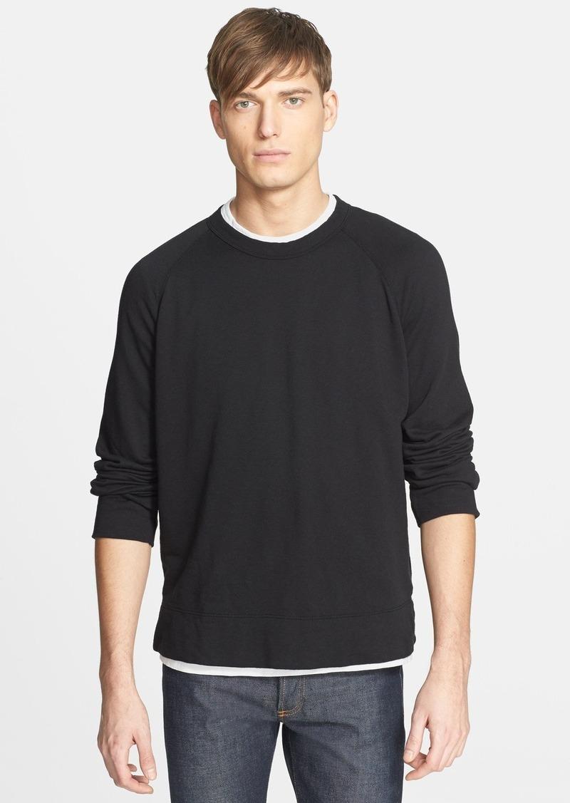 James Perse Raglan Crewneck Sweatshirt