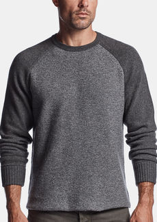 James Perse RECYCLED CASHMERE RAGLAN CREW