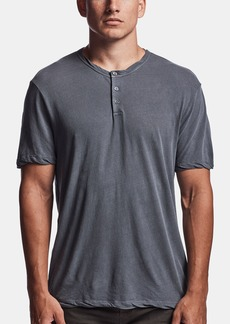 James Perse RECYCLED KNIT HENLEY