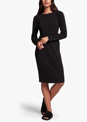 James Perse RIBBED CREW NECK DRESS