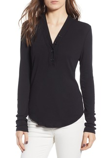 James Perse Ribbed Henley