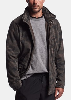 James Perse RIGID JERSEY CAMO JACKET