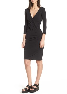 James Perse Ruched Body-Con Dress