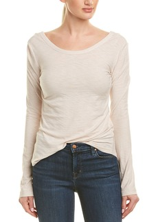 James Perse Scoop Back Slub Jersey T-Shirt