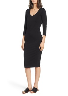 James Perse Scoop Neck Dress