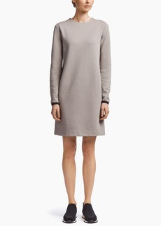 James Perse SCUBA BACK ZIP DRESS