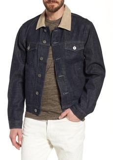 James Perse Selvedge Regular Fit Denim Jacket