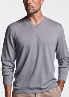 James Perse SEMI WORSTED CASHMERE V-NECK