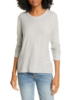 James Perse Sheer Slub Cotton Tee