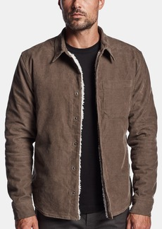 James Perse SHERPA LINED CORD SHIRT