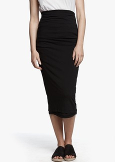 7918f0c45 James Perse James Perse SHIRRED TUBE SKIRT | Skirts