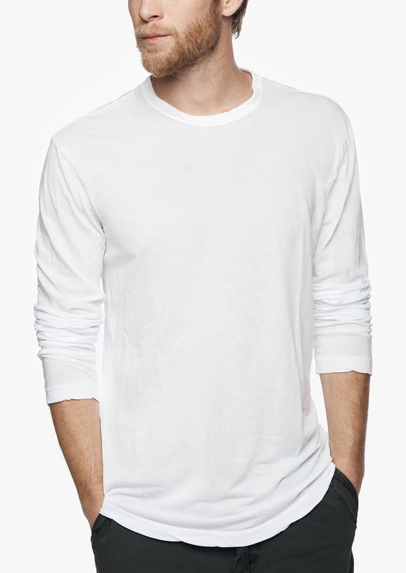 James perse james perse shirttail hem crew t shirts for James perse t shirts sale