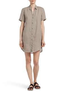 James Perse Short Sleeve Shirtdress