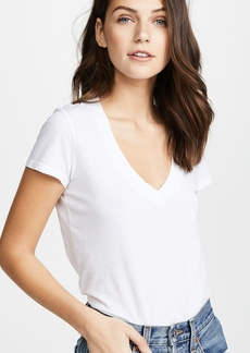 James Perse Short Sleeve V Neck Tee