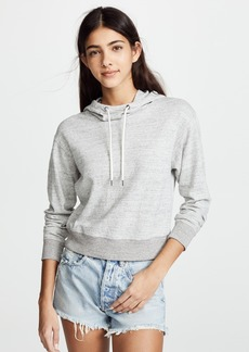 James Perse Shrunken Hoodie Sweatshirt