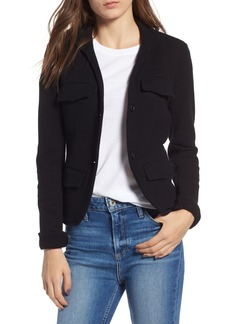 James Perse Shrunken Military Blazer