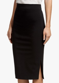 James Perse SIDE SPLIT PENCIL SKIRT