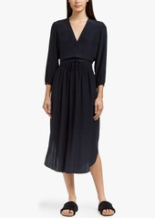 James Perse SILK CHARMEUSE DRESS
