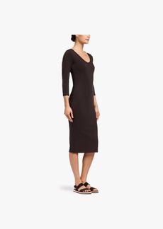 James Perse SKINNY SCOOP NECK DRESS