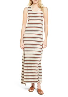 James Perse Sleeveless Stripe Dress