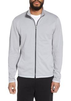 James Perse Slim Fit Compact Terry Zip Jacket