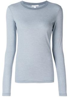 James Perse slim fit jersey top - Grey