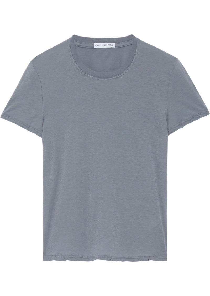 James perse james perse slub cotton jersey t shirt for James perse t shirts sale