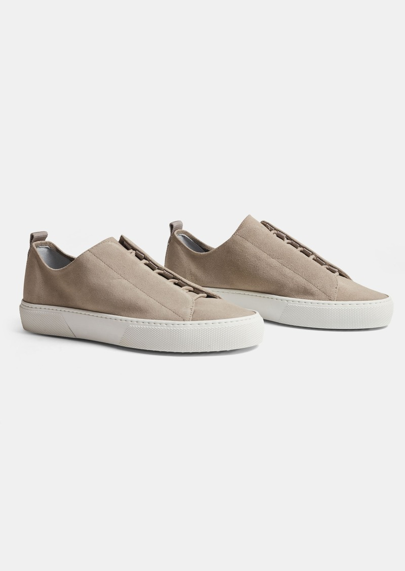 James Perse SOLSTICE CONCEALED SUEDE LACE-UP - WOMENS
