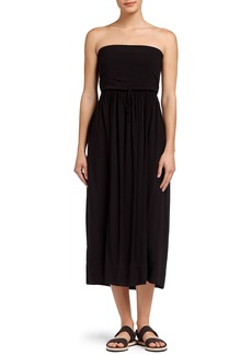 James Perse Strapless Maxi Dress