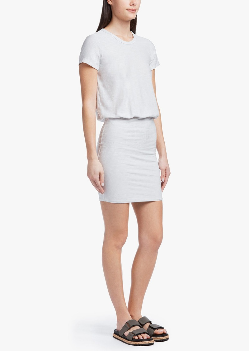 dc587f2614a James Perse James Perse STRETCH JERSEY BLOUSON T-SHIRT DRESS | Dresses