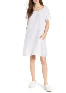 James Perse Stripe Linen Dress