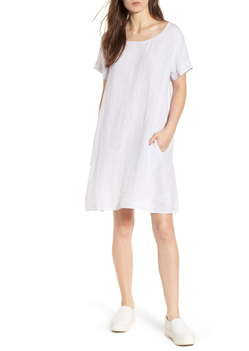 6d97071adb James Perse James Perse Stripe Linen Dress