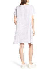 69d483d776 James Perse Stripe Linen Dress James Perse Stripe Linen Dress