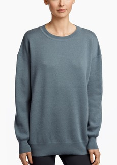 James Perse TEXTURED CASHMERE OVERSIZED SWEATER
